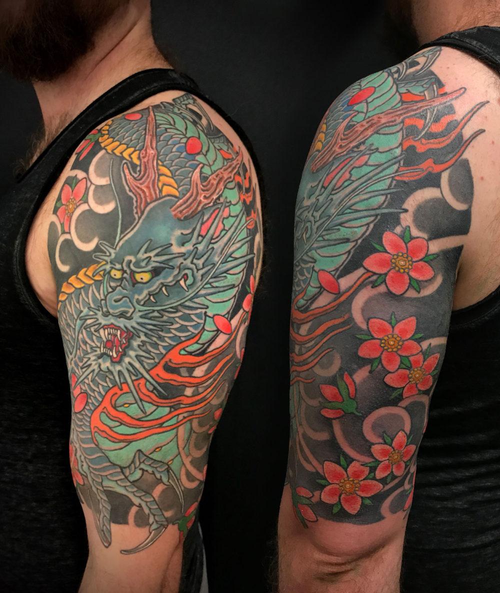 Blue Dragon #1 Tattoo