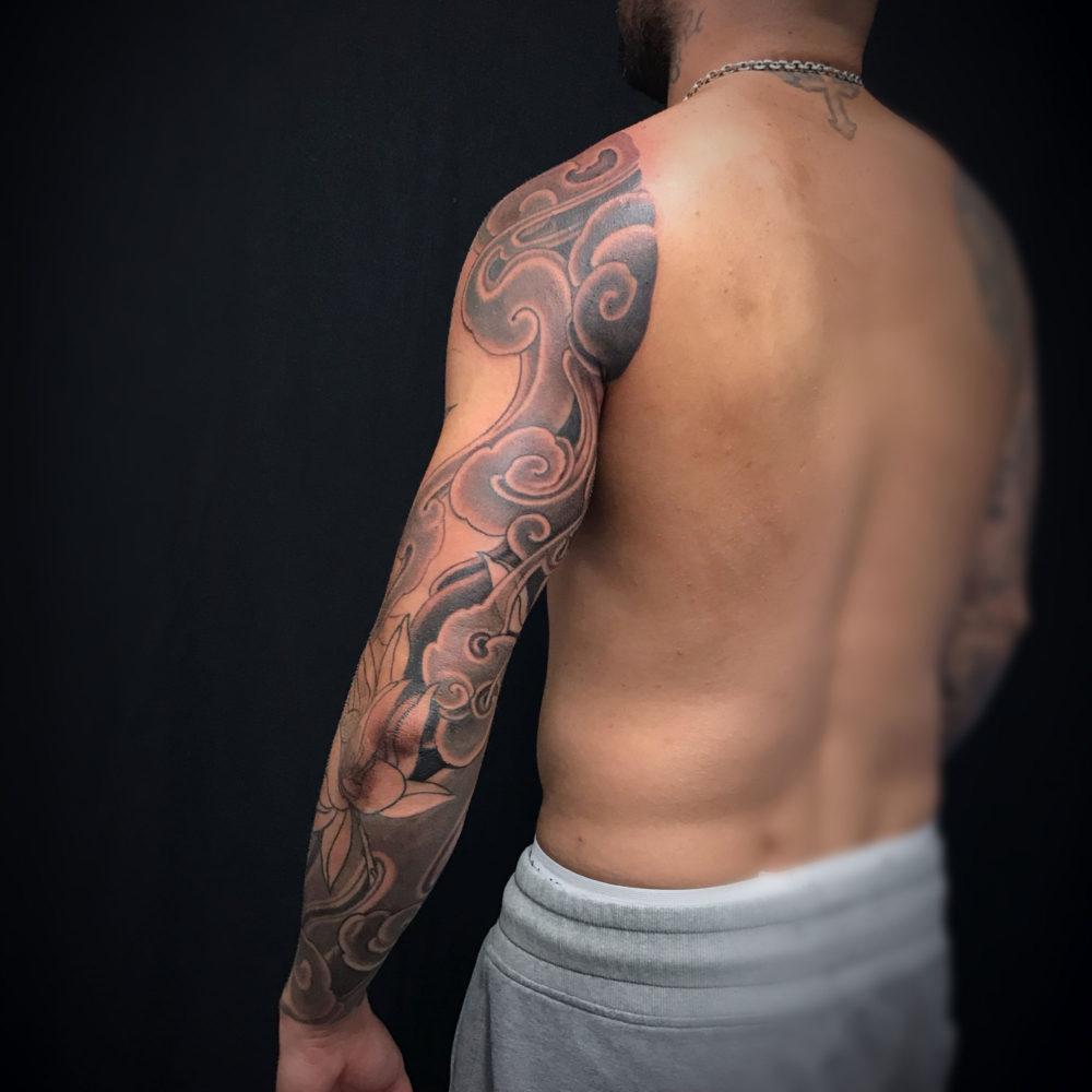 WIP Sleeve rear Tattoo