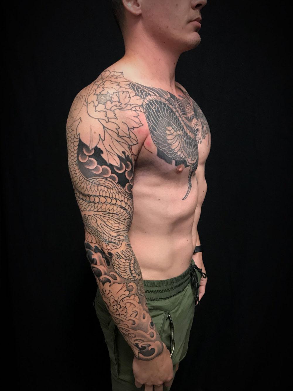 WIP Sleeve Tattoo