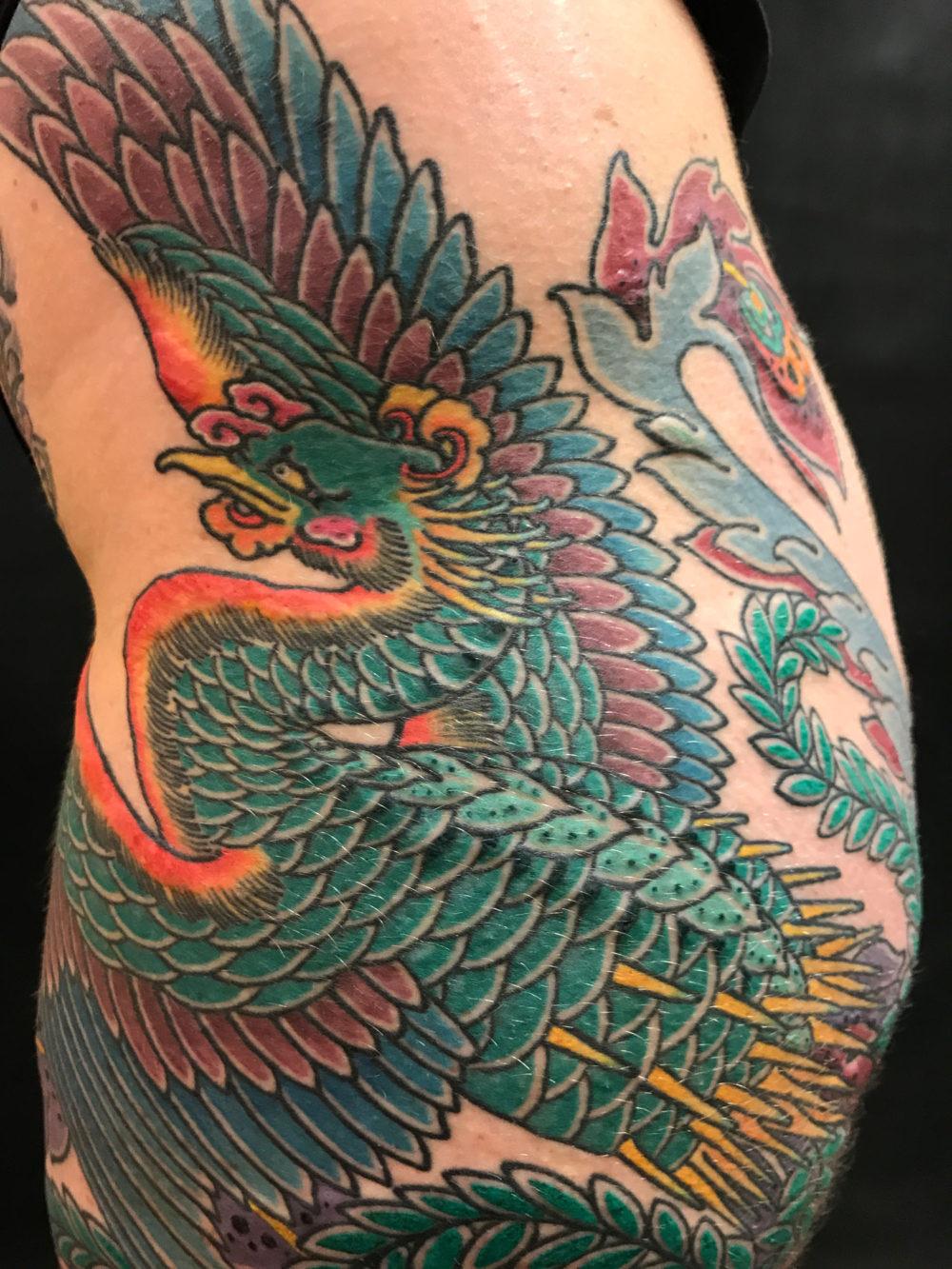 Phoenix Detail Tattoo